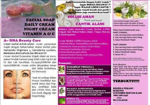 brosur_resmi_Diana's Beauty Center